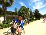 Cycling marbella Promenade