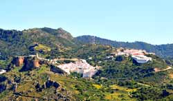 Gaucín-on-hill