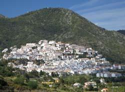Ojen white village