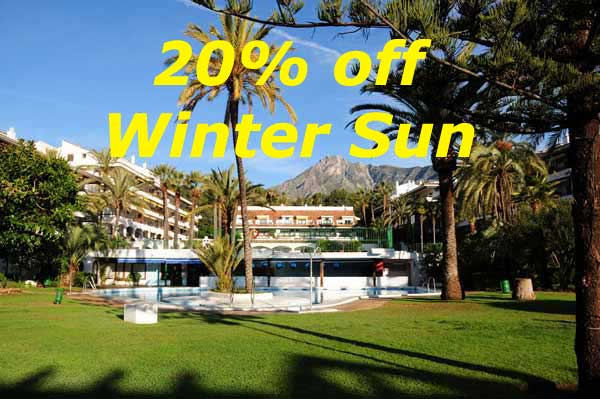 20% off Winter Sun