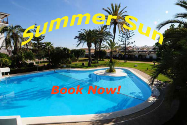 Book your summer sun now!