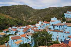 Juzcar blue village
